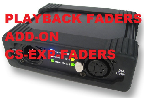 Interactive Technologies CueServer Express Playback Faders Software Add-On CS-EXP-FADERS