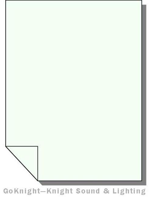 Lee Filters Lighting Gel Sheet 278 1/8 Plus Green
