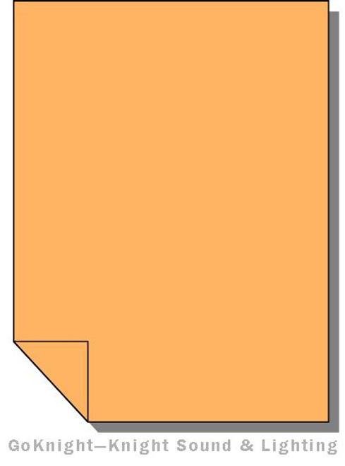 Lee Filters Lighting Gel Sheet 286 1.5 CT Orange (Lee 286)