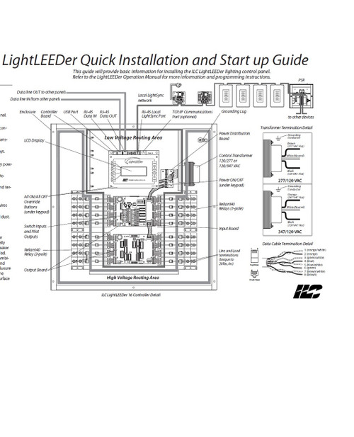 ILC LightLEEDer Quick Installation and Start up Guide