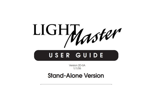 ILC Light Master Stand Alone User Manual