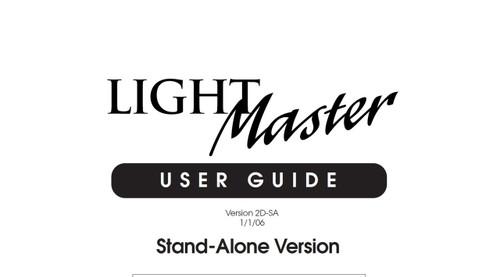 ILC Light Master Stand Alone User Manual