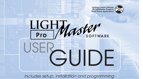 ILC Light Master pro stand alone software manual
