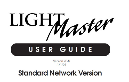 ILC LightMaster standard network user manual