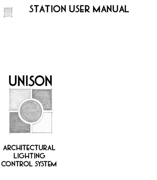 ETC Unison Station User Manual