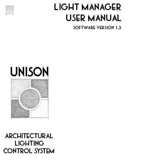 ETC Unison Light Manager Manual V1.3
