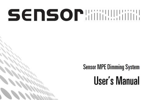 ETC Sensor MPE Dimming System Manual