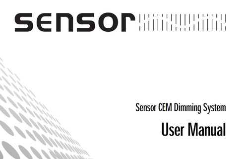ETC Sensor CEM Dimming System User Manual