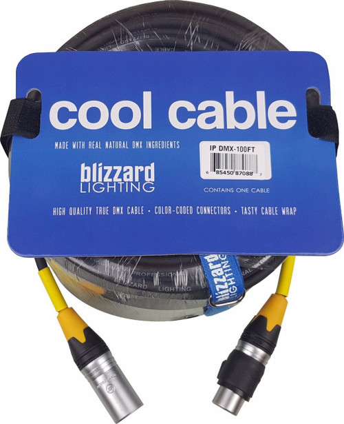 "Blizzard Lighting DMX-IP-100Q ""Cool Cable"" IP 100' 3-Pin XLR 22 Gauge DMX cable"