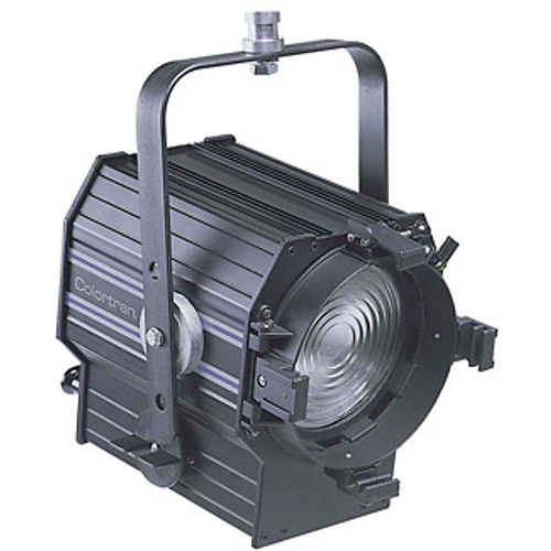 "Leviton FR1TH-62B 6"" Theater Fresnel with 20A Locking Plug Installed"