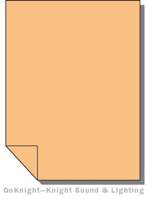 Lee Filters Lighting Gel Sheet 441 Full CT Straw (Lee 441)