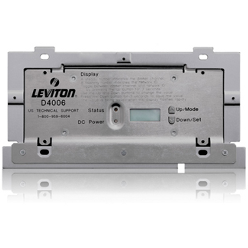 Leviton D4006-2LW Dimensions® D4006 Remote Dimmer for Luma-Net system