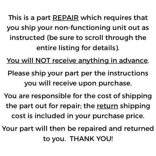Leviton Colortran iSeries Control Module, repair (4-0311)