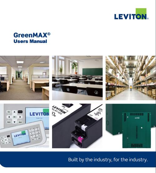 Leviton Greenmax User's Manual