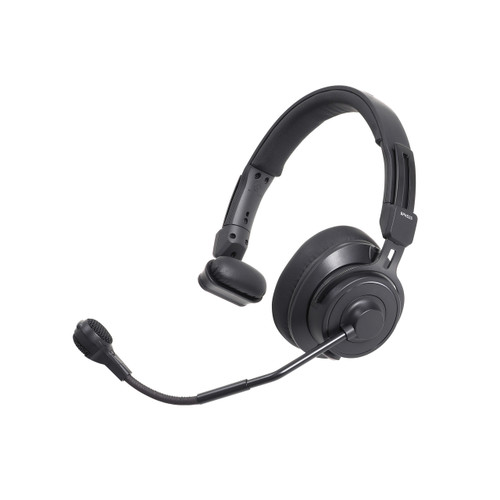 Audio-Technica BPHS2S-UT Single-ear broadcast headset with hypercardioid dynamic boom microphone, unterminated