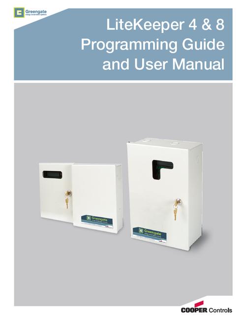 PCI LiteKeeper® 4 & 8 Keypad Programming Guide & User Manual