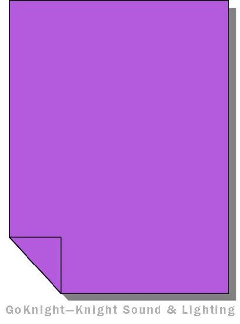 Lee Filters Lighting Gel Sheet 701 Provence (Lee 701)