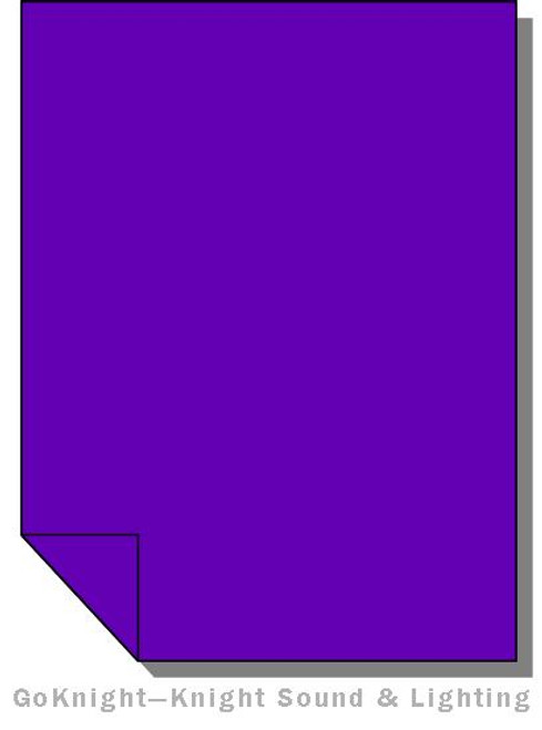 Lee Filters Lighting Gel Sheet 707 Ultimate Violet (Lee 707)