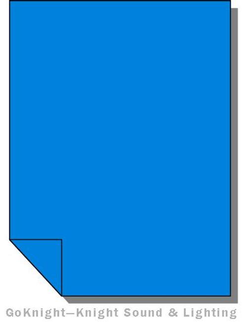 Lee Filters Lighting Gel Sheet 721 Berry Blue (Lee 721)