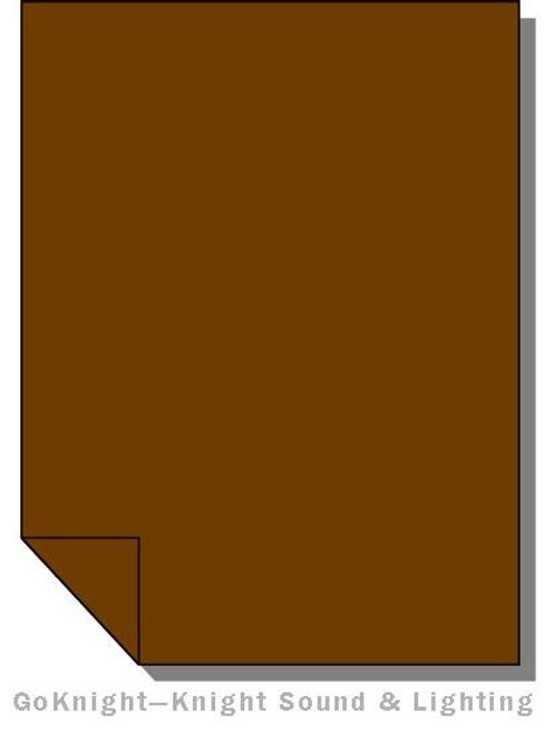 Lee Filters Lighting Gel Sheet 746 Brown (Lee 746)