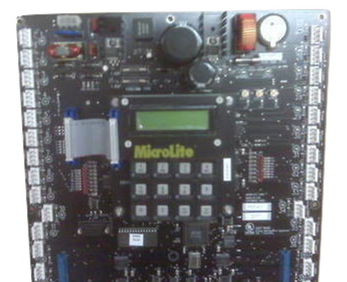 MicroLite 600 Series Relay Panel:  Backplane & LCU (used)