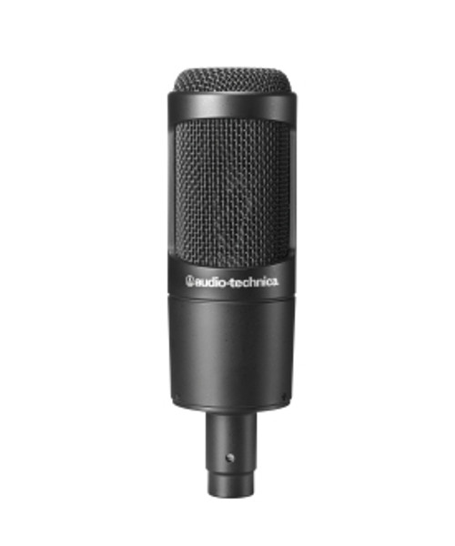 Audio-Technica AT2035PK Streaming Podcasting Package w AT2035 mic and M20x headphones
