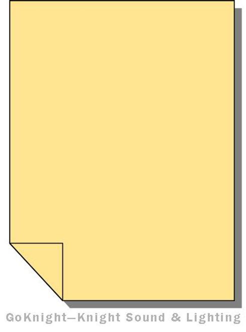 Lee Filters Lighting Gel Sheet 765 LEE Yellow (Lee 765)