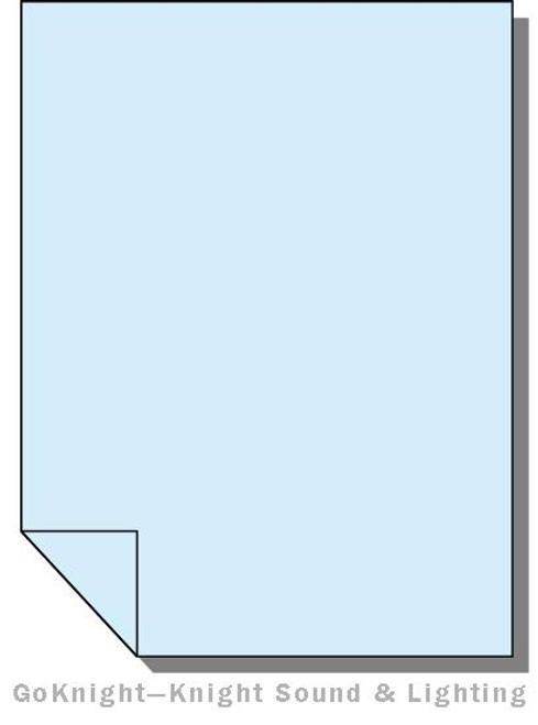 Lee Filters Lighting Gel Sheet 718 Half Shanklin Frost (Lee 718)