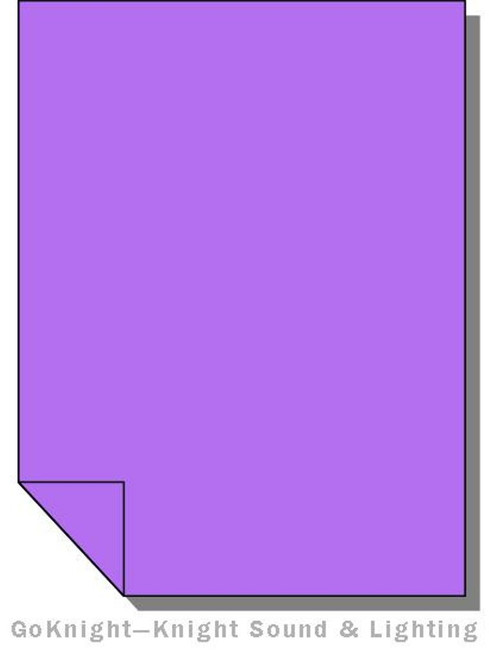Lee Filters Lighting Gel Sheet 058 Lavender (Lee 058)