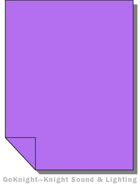 Lee Filters 058 Lavender Lighting Gel Sheet