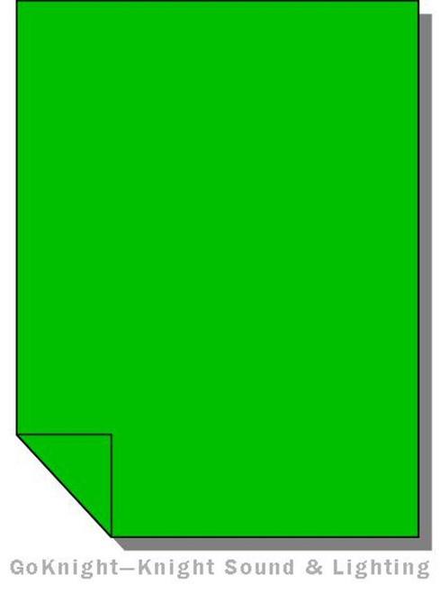 Lee Filters 090 Dark Yellow Green Lighting Gel Sheet