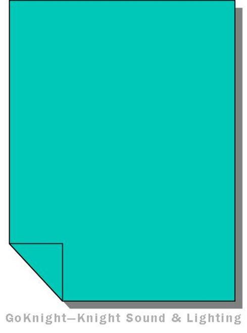 Lee Filters Lighting Gel Sheet 116 Medium Blue Green (Lee 116)
