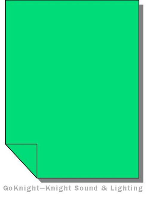 Lee Filters Lighting Gel Sheet 124 Dark Green (Lee 124)