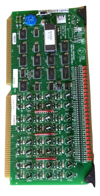 MicroLite ROM-DC card to control MicroLite breakers