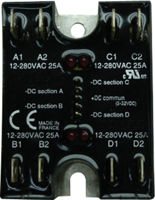 Strand Quad 20 Amp SSR for ICON 2410 and ICON 2413 (Q20A SSR)