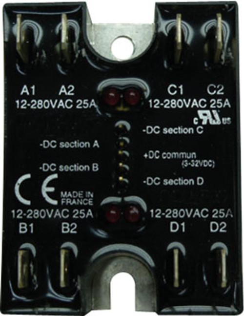 Strand Quad 20 Amp SSR for ICON 2410 and ICON 2413 (Q20A SSR)