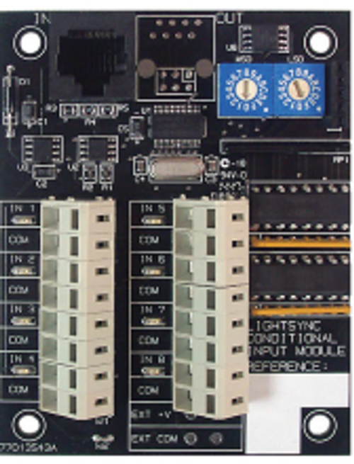 ILC LightSync Conditional Input Module, panel mount, dry contact (LSCIM-P-O)