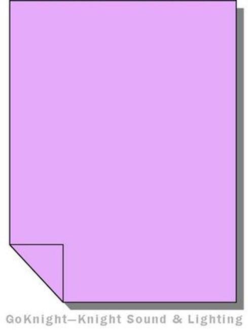 Lee Filters 052 Light Lavender Fluorescent Sleeve