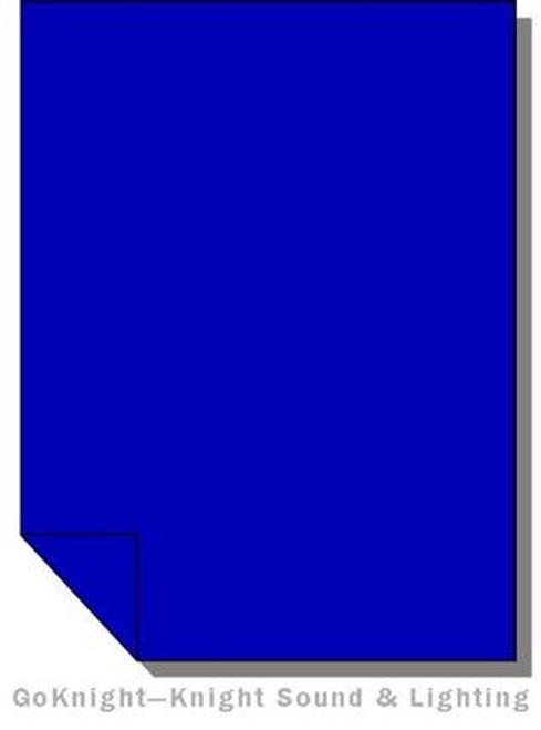 Lee Filters 071 Tokyo Blue Fluorescent Sleeve