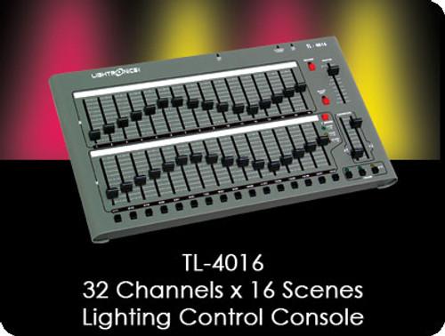 Lightronics TL – 4016: 32 Channels X 16 Scenes Optional Wireless DMX (stand alone)