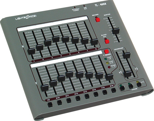 Lightronics TL4008 16 Channels, 8 Scenes Optional DMX (5 pin or 3 pin)