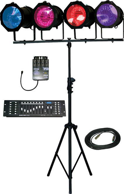 Lightronics Lighting in a Box includes ShowPro SM192 Console and ShowPro SD4102 Dimmer