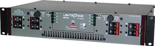 Lightronics RE82L Rack Mount Dimmer 8 Channels 2400W per Channel