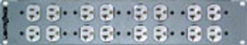 Lightronics EP82 Dimmer Rack Rear Panel