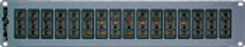 Lightronics SP82 Dimmer Rack Rear Panel