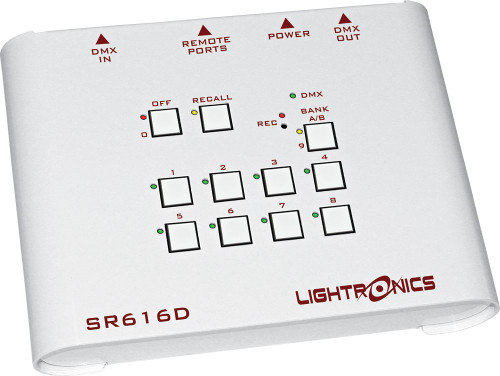 Lightronics SR616W Wallmount Architectural Controller