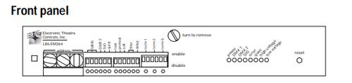 ETC RSVP 96 OUT 120V