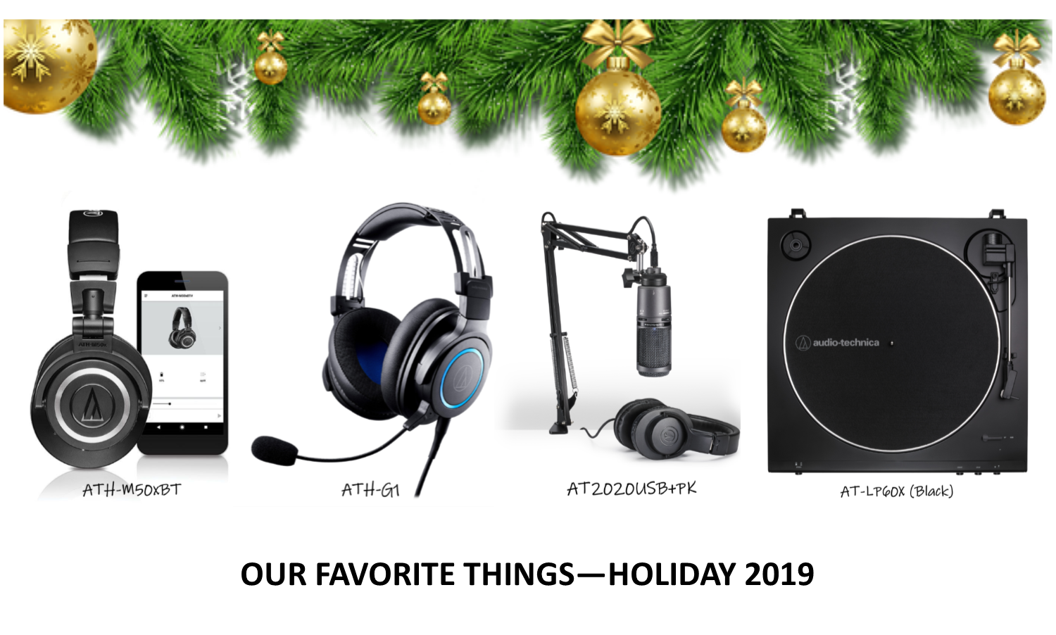 Our Favorite Things - Holiday 2019