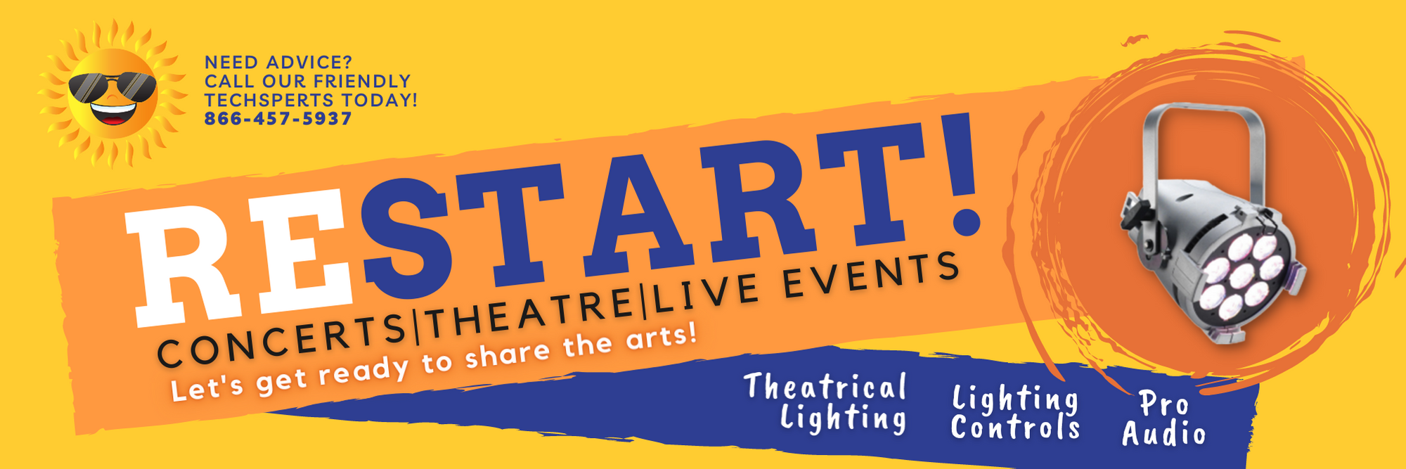 ReSTART your live events with Knight Sound  &Lighting