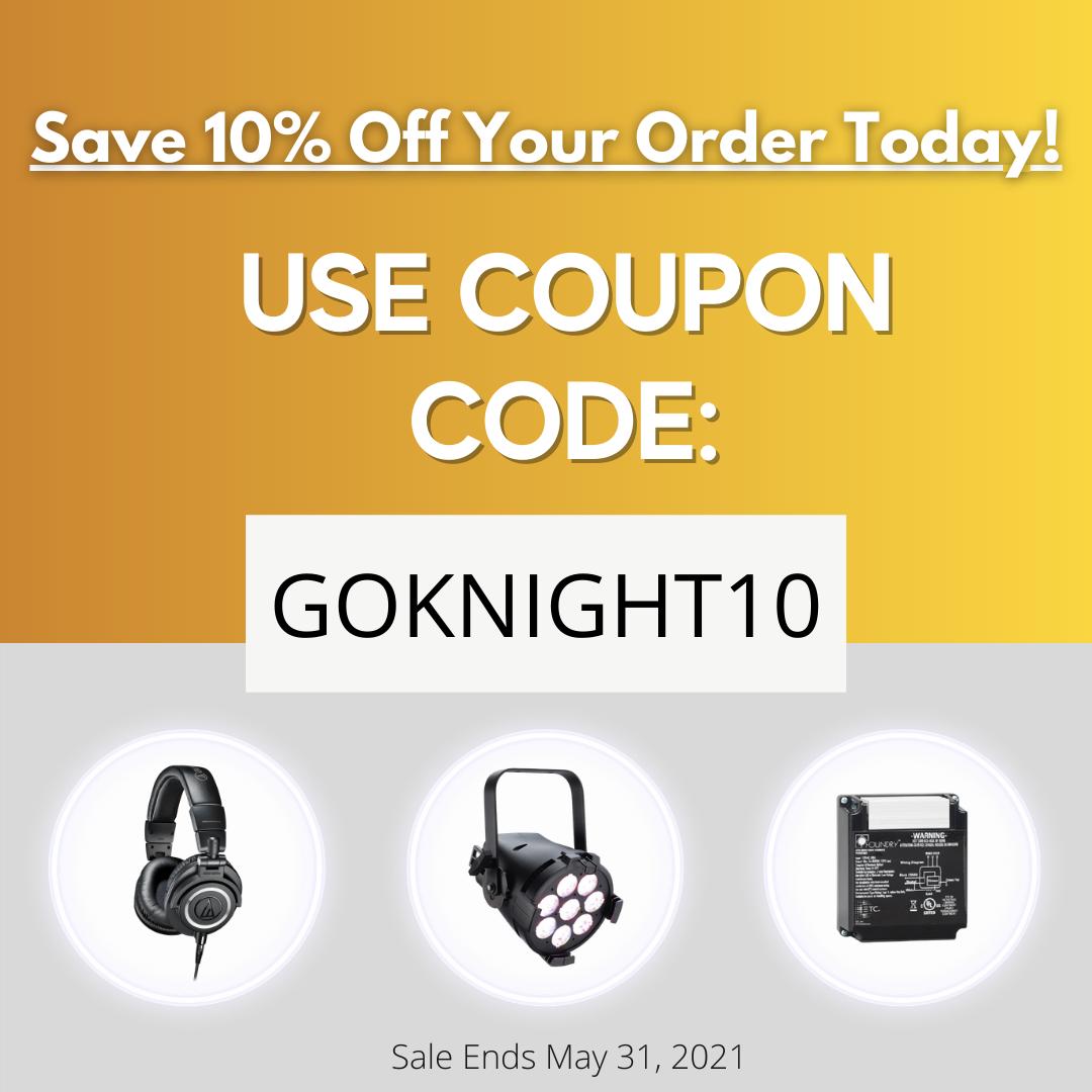Spring SALE on GoKnight.com through May 31, 2021
